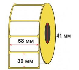 Термоэтикетка ЭКО 58x30
