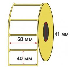 Термоэтикетка ЭКО 58x40